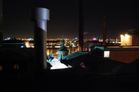 Urban exploration på taget af Carlsberg. Foto: Maja Klausen.