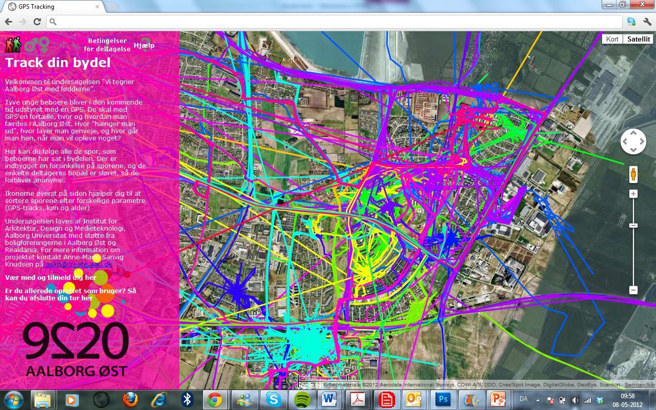 Bløde kroppe og hårde data. Tracking i byplanlægning