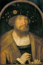 Michel Sittow, Portræt af Christian II, 1514/1515. (Statens Museum for Kunst)