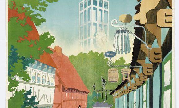 Tegneren, reklamemanden og iværksætteren Harald Borges tegnede i slutningen af 1940'erne en ny turistplakat, der skulle lokke besøgende til Aarhus. Efter 'de fem forbandede år' hungrede danskerne efter normale tilstande […]